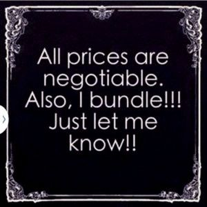 Other - Get specials deals on bundles of 3 or more!!!